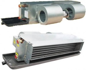 air conditioning evaporator unit